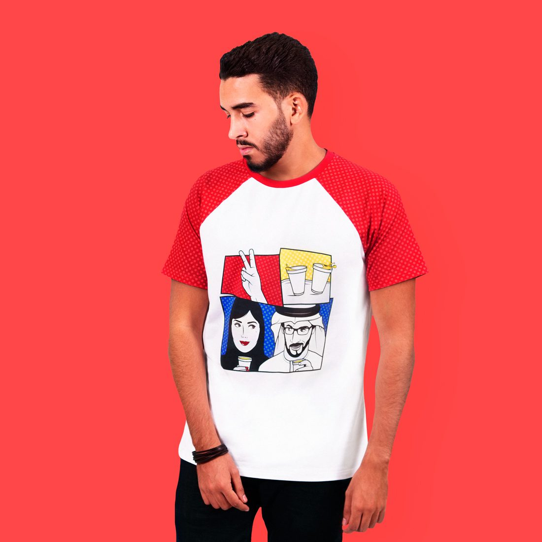 Karak Date T-shirt by La Come Di