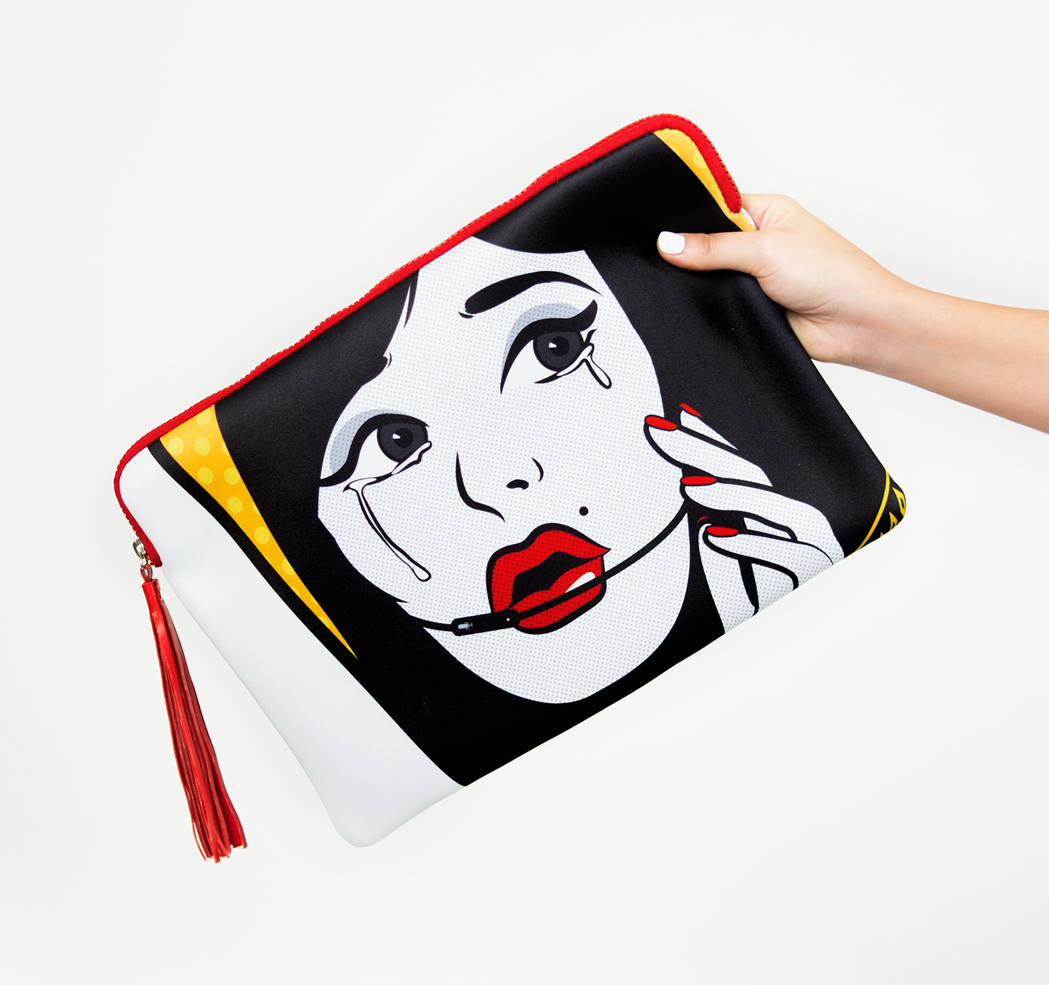 Cry Baby Clutch Bag by La Come Di