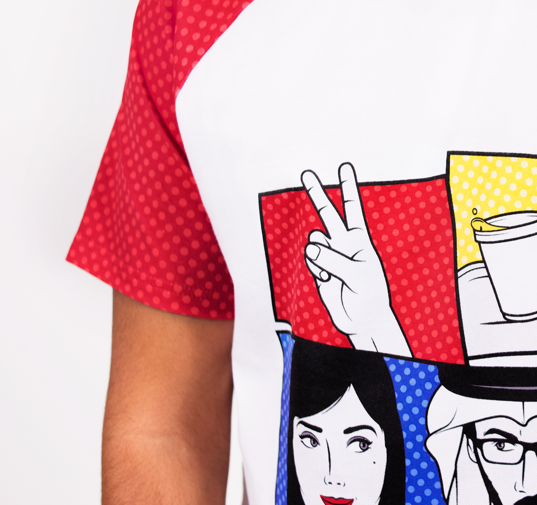 Karak Date T-shirt by La Come Di