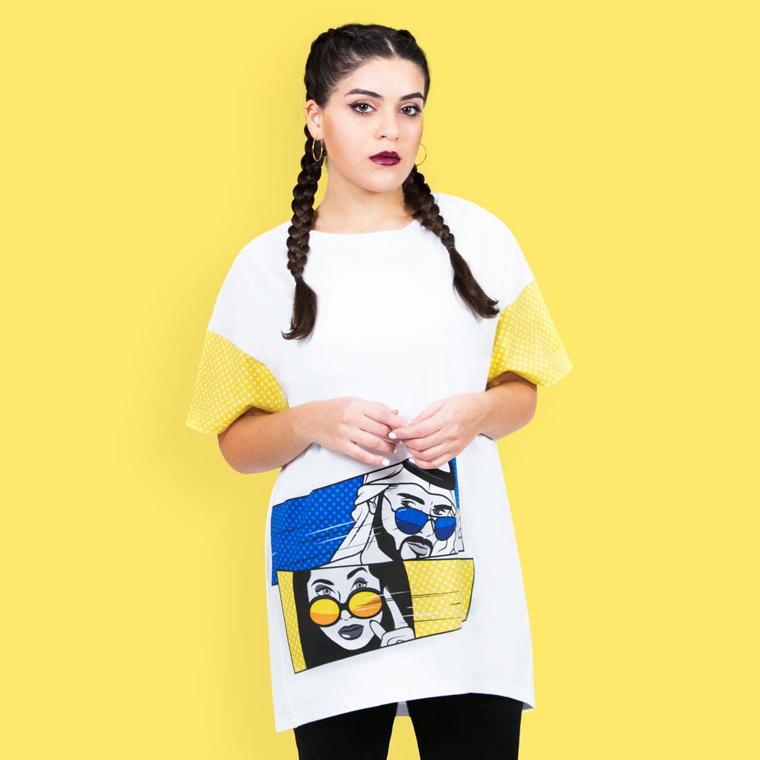 Stare Contest T-shirt by La Come Di