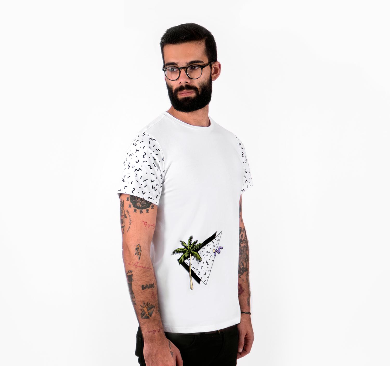 Palm Tree T-shirt by La Come Di