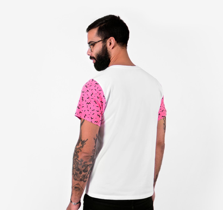 Sunset Flamingo T-shirt by La Come Di