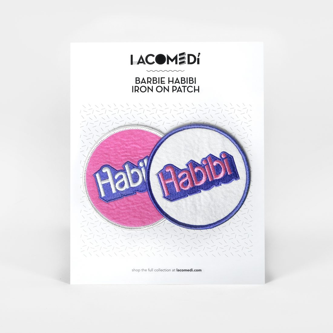 Habibi Patches Set by La Come Di