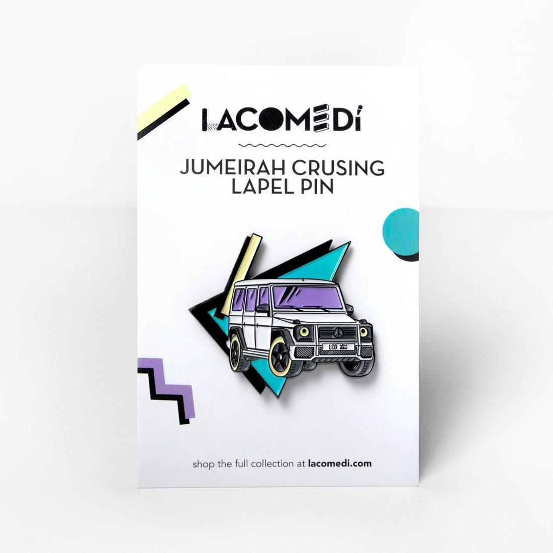 Jumeirah Cruising Pin by La come Di